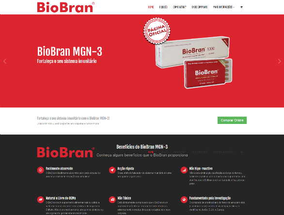 website corporativo biobran portugal